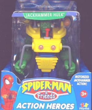 Jackhammer Hulk (Spider-Man & Friends)