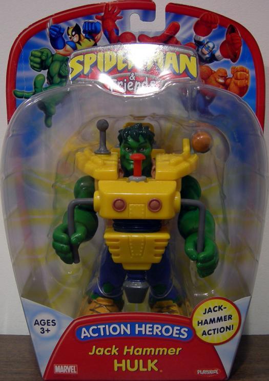 Jack Hammer Hulk (Spider-Man & Friends, reissued)