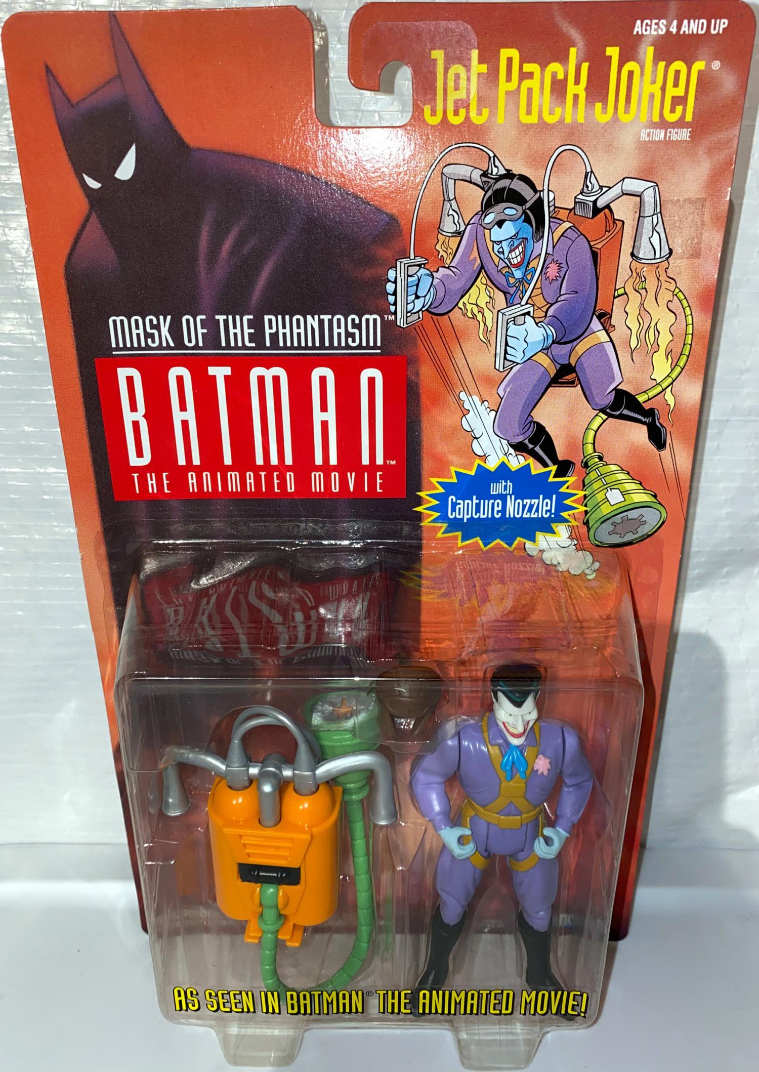 Jet Pack Joker, white face (mask of the phantasm)