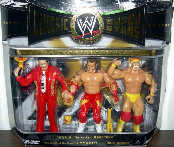 Mouth of the South Jimmy Hart Brutus Barber Beefcake Hulk Hogan