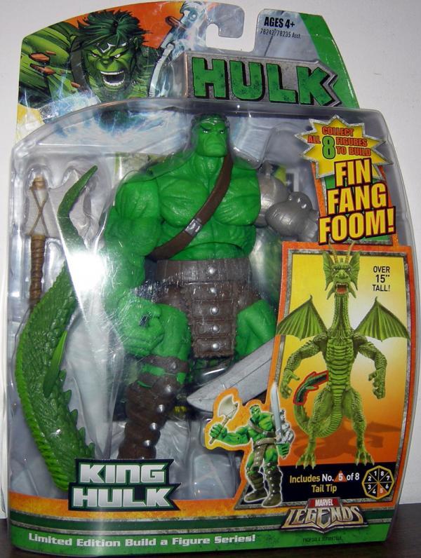 King Hulk (Marvel Legends Fin Fang Foom series)