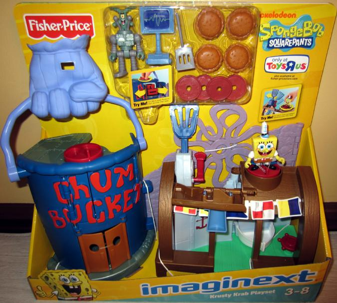 Krusty Krab Playset (Imaginext, Toys R Us Exclusive)