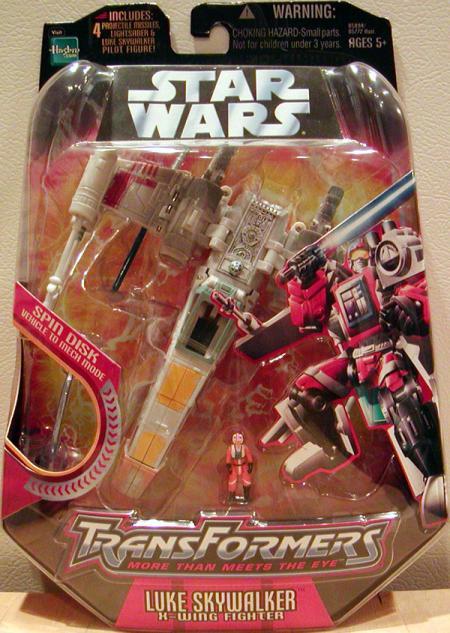 Luke Skywalker X-wing Fighter (Transformers)