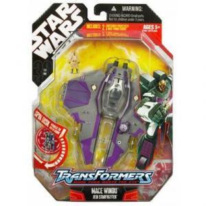 Mace Windu Jedi Starfighter (Transformers)