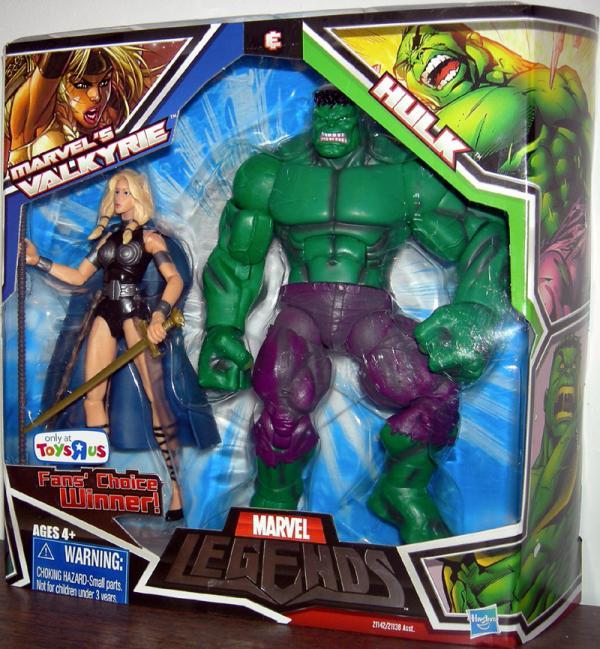 Marvel's Valkyrie & Hulk (Marvel Legends)
