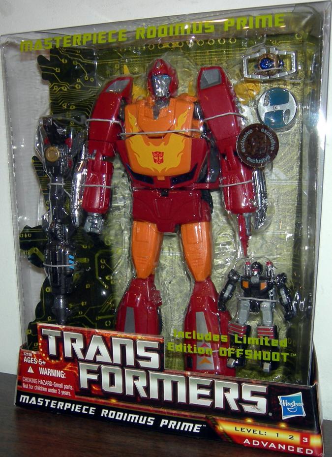 Masterpiece Rodimus Prime (Toys R Us Exclusive)