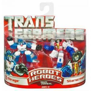 Mirage & Starscream (Robot Heroes)