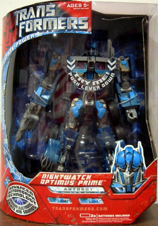 Nightwatch Optimus Prime (Leader Class)