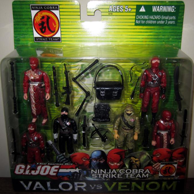 Ninja Cobra Strike Team 6-Pack
