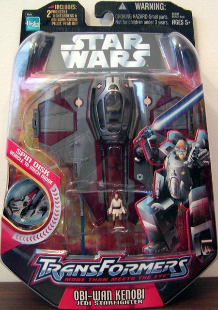 Obi-Wan Kenobi Jedi Starfighter (Transformers)