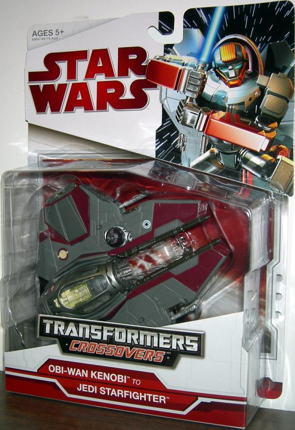 Obi-Wan Kenobi to Jedi Starfighter (Transformers Crossovers)