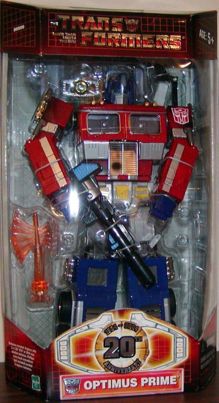 Optimus Prime (20th Anniversary)