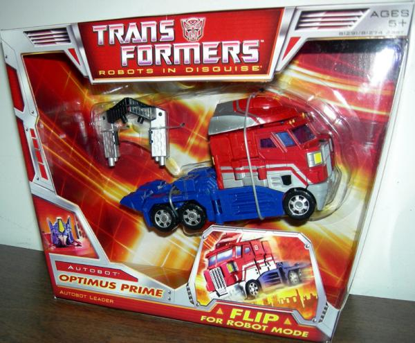 Optimus Prime Classic Voyager