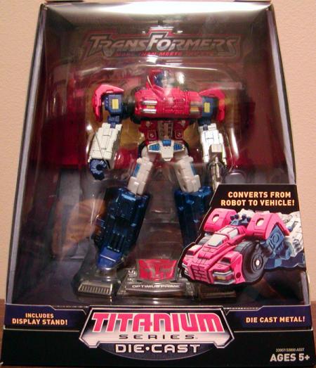 Optimus Prime Titanium Series Die Cast