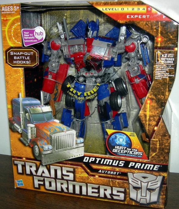 Optimus Prime (Leader Class, 2009)