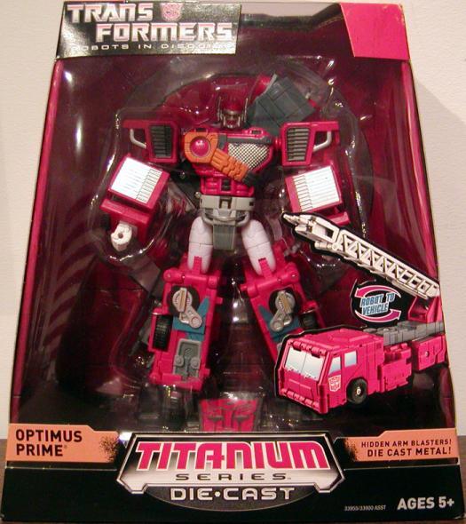 Optimus Prime 2 Titanium Series Die Cast