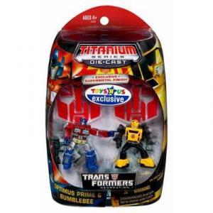 Optimus Prime & Bumblebee (Titanium Series Die-Cast)