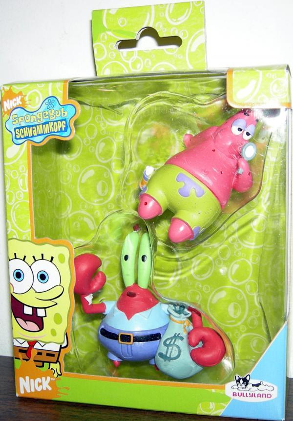 Patrick Star & Mr. Krabs 2-Pack