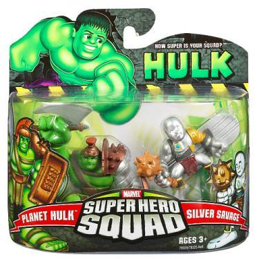 Planet Hulk and Silver Savage (Super Hero Squad)