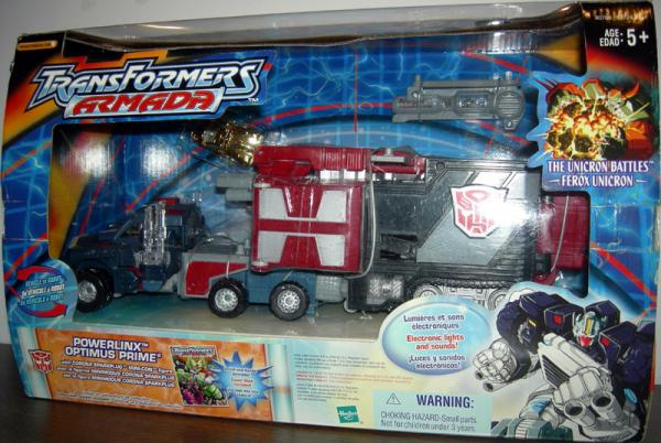 Powerlinx Optimus Prime (Transformers Armada)