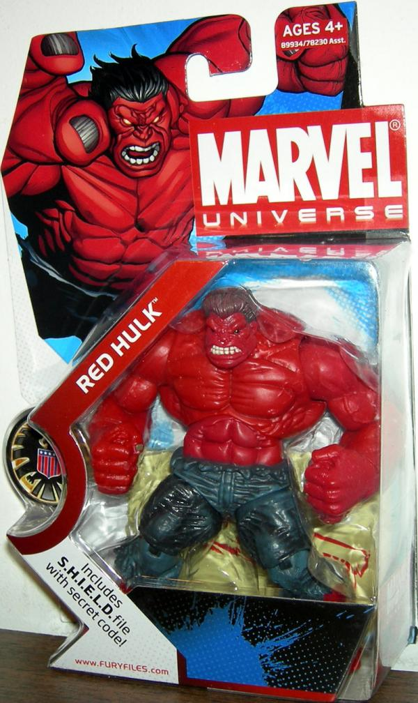 Red Hulk (Marvel Universe, #028)