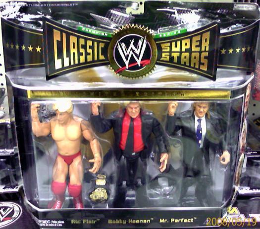 Ric Flair, Bobby Heenan & Mr. Perfect 3-Pack
