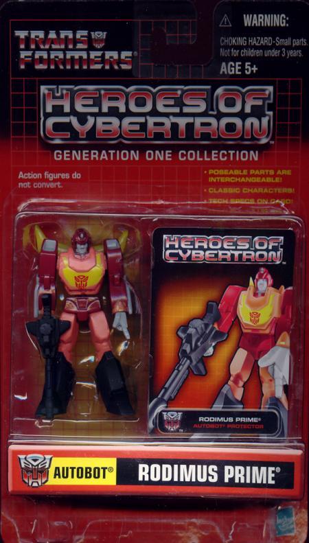 Rodimus Prime (Heroes of Cybertron)