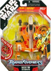 Saesee Tiin Jedi Starfighter (Transformers)