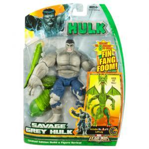 Savage Grey Hulk (Marvel Legends Fin Fang Foom series)