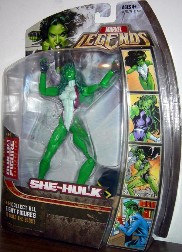 She Hulk (Marvel Legends, Blob series)