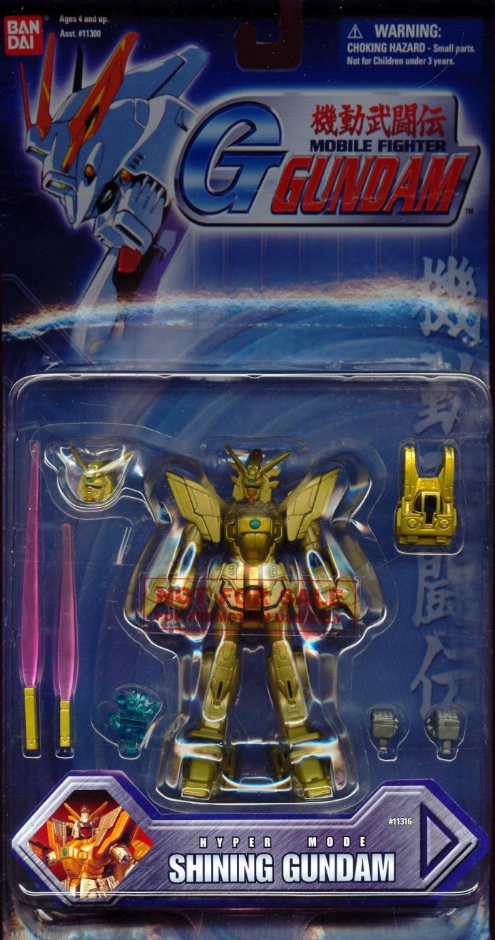 Shining Gundam (Hyper Mode, Hong Kong Exclusive)