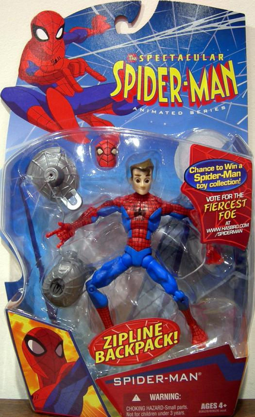 Spider-Man with Zipline Backpack (The Spectacular Animated Series)