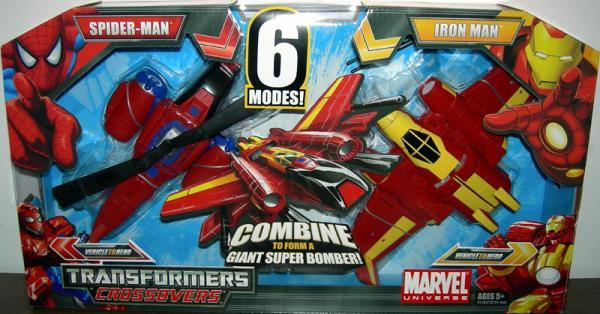 Spider-Man & Iron Man (Transformers Crossovers)