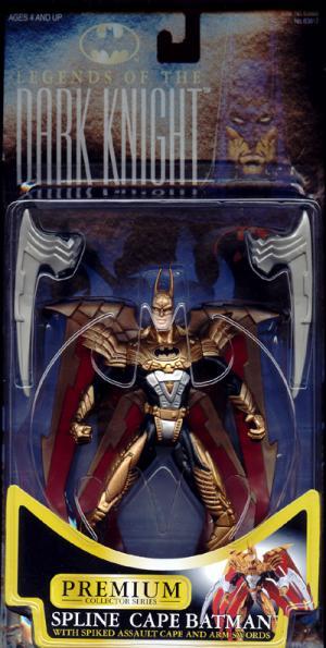Spline Cape Batman (Legends Of The Dark Knight)