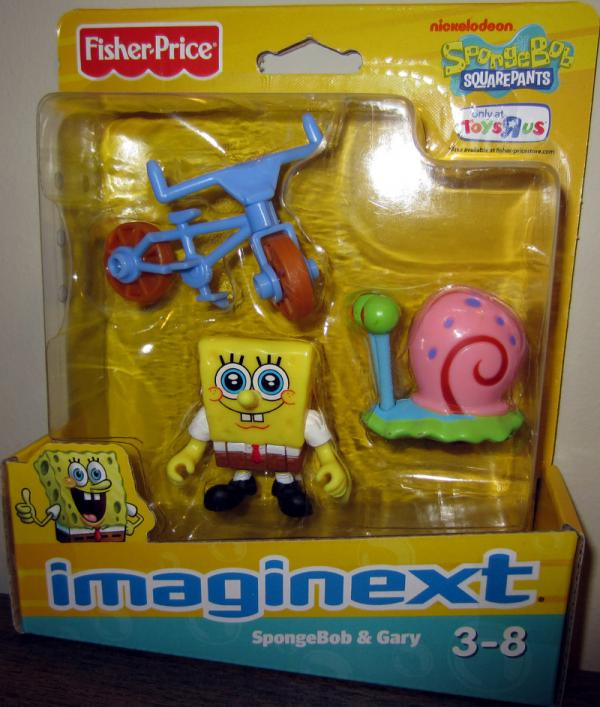 SpongeBob & Gary (Imaginext, Toys R Us Exclusive)