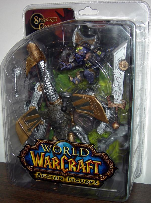 Gnome Warrior: Sprocket Gyrospring