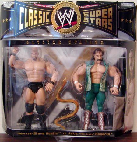 Stone Cold Steve Austin vs Jake The Snake Roberts 2-Pack