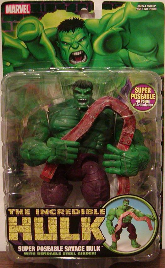 Super Poseable Savage Hulk
