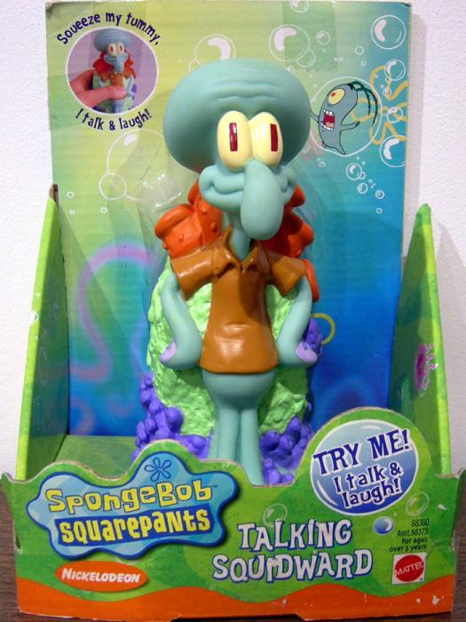 Squidward (talking)