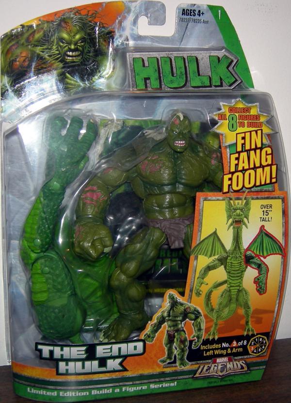 The End Hulk (Marvel Legends Fin Fang Foom series)