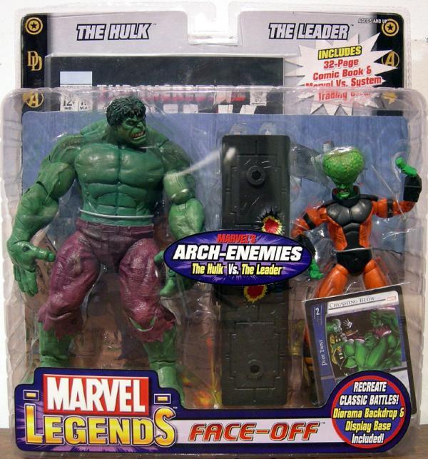 The Hulk vs. The Leader (Marvel Legends)