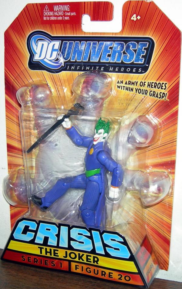 The Joker (Infinite Heroes, figure 20, purple suit)