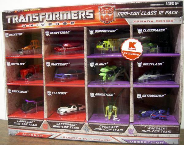Transformers Universe Mini-Con Class 12 Pack (Armada Series)