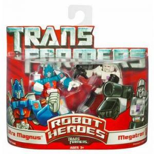 Ultra Magnus & Megatron (Robot Heroes)