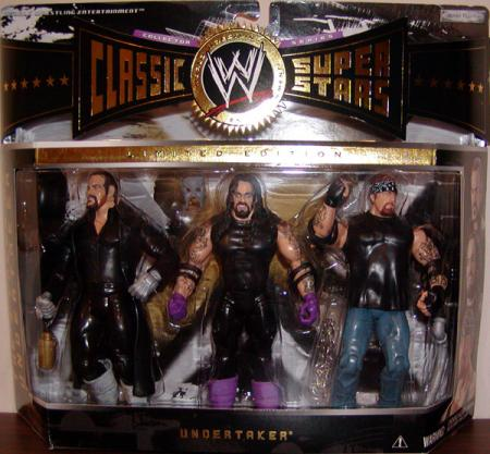 The 3 Faces of Undertaker 3-Pack