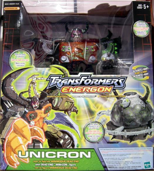 Unicron (Energon, repaint)