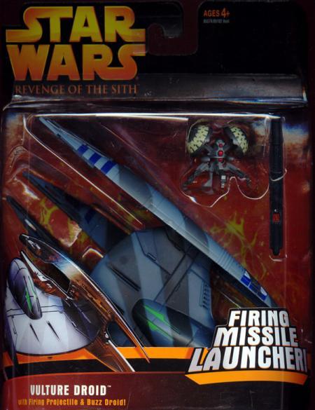 Vulture Droid Deluxe Revenge Sith Star Wars Action Figure