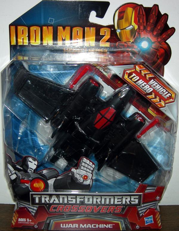 Fighter Jet War Machine (Transformers Crossovers, Iron Man 2)