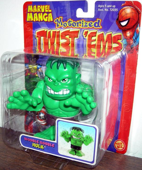 Wobble Bobble Hulk (Marvel Manga Motorized Twist 'Ems)