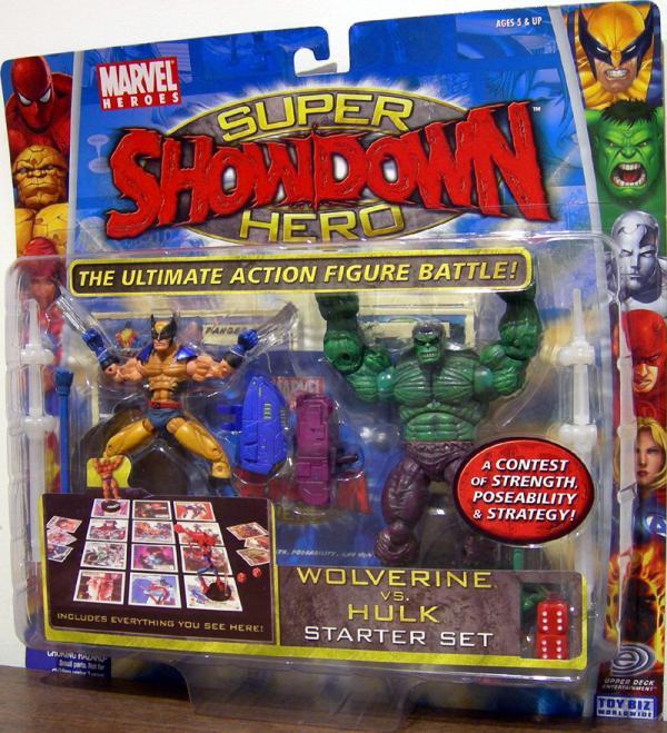 Wolverine vs. Hulk (Super Hero Showdown)